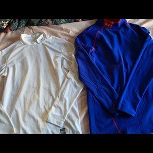 Nike Dri-fit and UA Coldgear